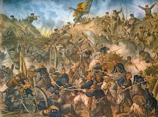 Cucerirea redutei de la Griviţa de către trupele române