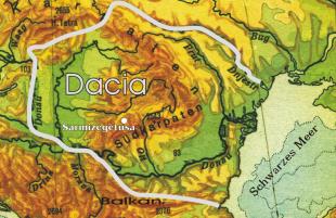 Dacia în anii 82 î.Hr.