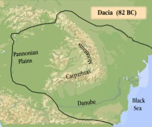 Dacia în timpul lui Burebista