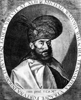 Mihai Viteazul, portretul de la Praga, din anul 1601