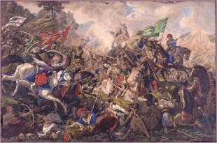 Bătălia de la Câmpul Pâinii, tablou de Ion Osolsobie