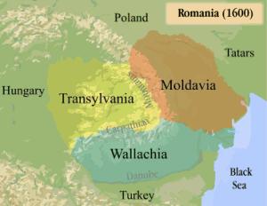 Cele trei principate în timpul domniei lui Mihai Viteazul (1599-1600)
