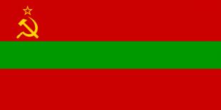 Drapel - Republica Sovietică Socialistă Moldovenească