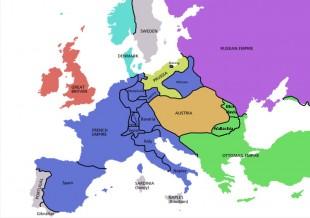 Europa în 1812
