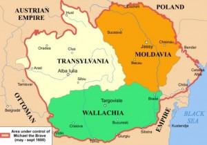 Hara principatelor romanesti sub Mihai Viteazul 1600