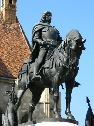 Statuia lui Matei Corvin de la Cluj