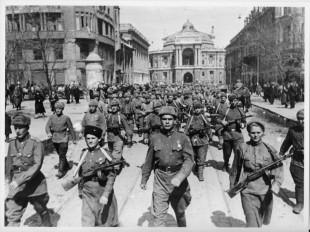 Armata Rosie in Odessa