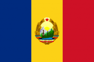 Steagul României comuniste (1965-1989)