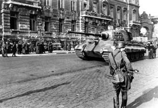 Tanc German in Budapesta 1944