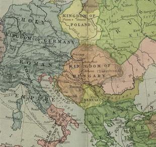 Ţara cumanilor din anii 1190