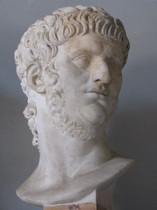 Bustul lui Nero de la Musei Capitolini, Roma