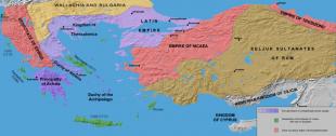Imperiul Latin și vasalii săi