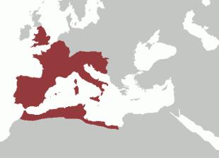 Imperiul Roman de Apus în 395