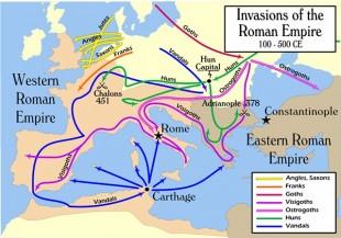 Invaziile Imperiului Roman (Batalia de la Adrianopol 378)