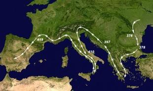 Migrația vizigoților