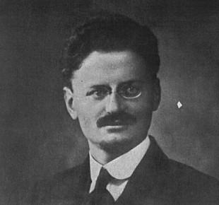 Fotografie de pe paşaportul lui Lev Troțki, 1915