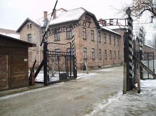 Poarta Lagărului de concentrare de la Auschwitz