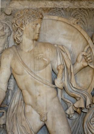 Ahile - basorelief Muzeul Luvru