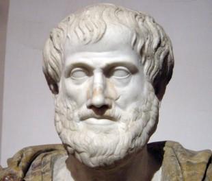 Portretul lui Aristotel, sculptură de Lysippos, Muzeul Luvru