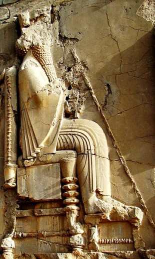 Darius I, Rege al Persiei
