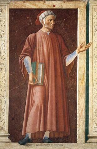 Dante Aligheri - Om de stat, poet, filozof, teorist al limbii