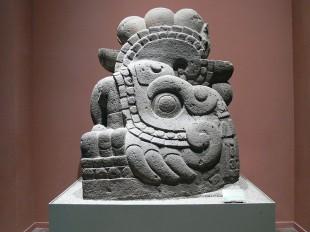 Statuie azteca, Muzeul National de Antropologie - Teotihuacan