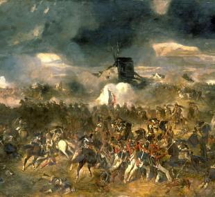 """""""La-bataille-de-Waterloo""""-de-Andrieux1"""