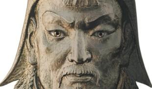 Ginghis Han - Statueta