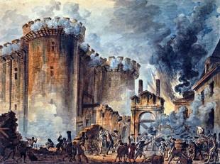 Incendierea Bastiliei, 14 iulie 1789