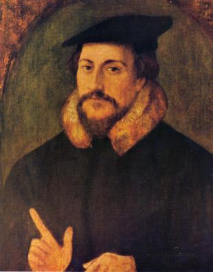 Portret al lui Calvin