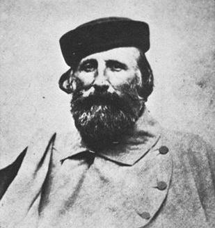 Garibaldi, fotografiat de Nadar - 1870